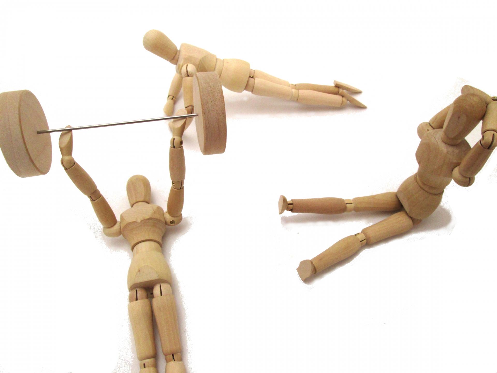 肩関節の動作と使われる筋肉